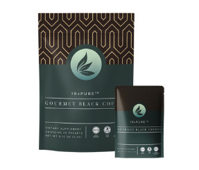 10xPURE Gourmet Black Coffee